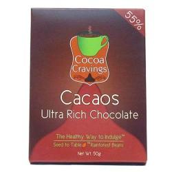 Vegan Dark  Arriba Chocolate 55%