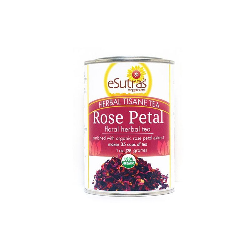 Rose Petal (Sensuality) Tea | eSutras Organics