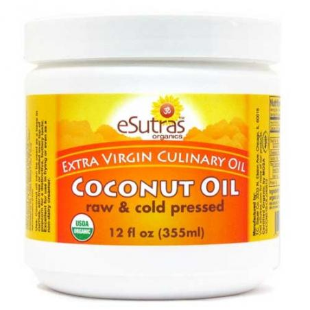 Organic Coconut Oil, Extra Virgin, Raw