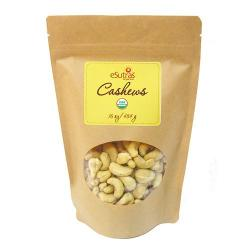 Organic Raw Cashews - 16 oz