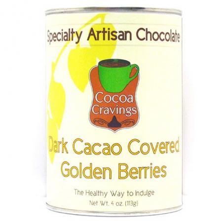 Golden Berries- Dark Cacao Covered