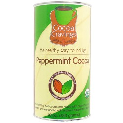 Hot Cocoa: Cool Peppermint Cocoa