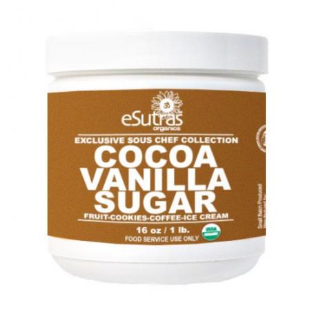 Cocktail Sugar: Cocoa Vanilla