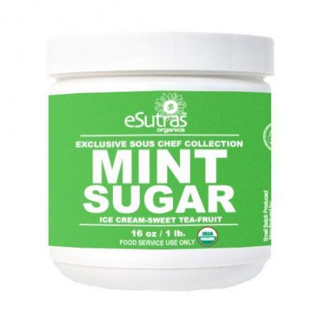 Cocktail Sugar: Mint
