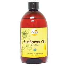 Sunflower Oil, Organic, Cold pressed