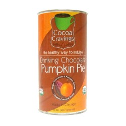 Drinking Chocolate: Pumpkin Pie