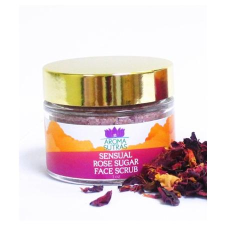 Sensual Rose Sugar Face Polish