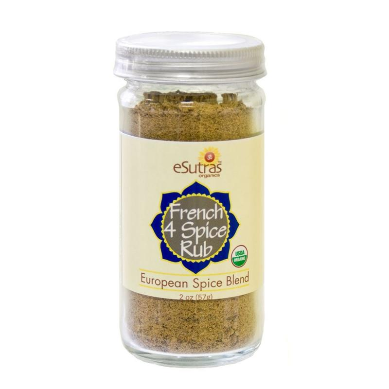 French Four Spice - 2 oz