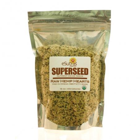Organic Raw Hemp Seed Hearts