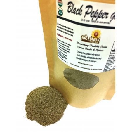 Black Pepper Ground Organic