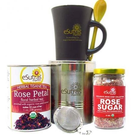 Floral Tea Gift Set