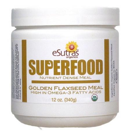 Golden Flax Seed Meal - 12 oz