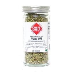 Extra Fancy Organic Fennel Seed