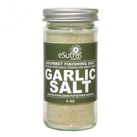 Finishing Salt Garlic