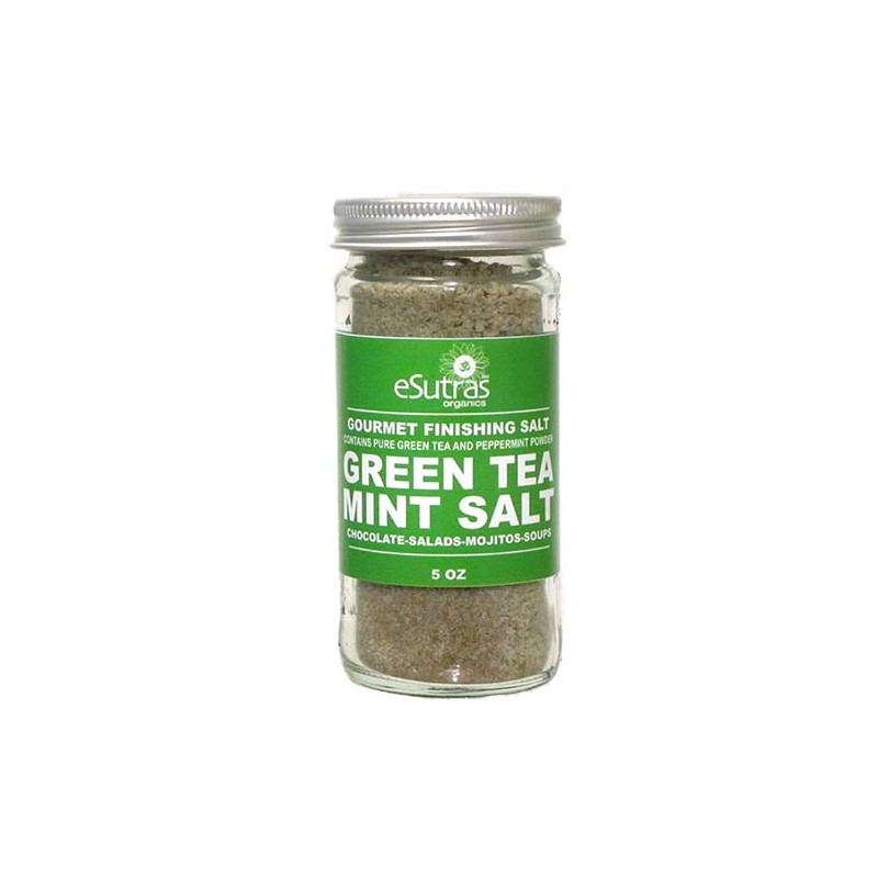 Green Tea Mint Salt