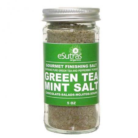 Finishing Salt Green Tea Mint