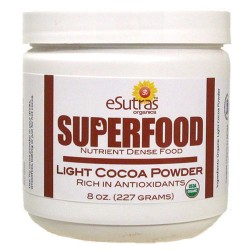 Cocoa Powder Raw, Organic- 8 oz