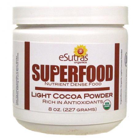 Cocoa Powder Raw, Organic- 8 oz