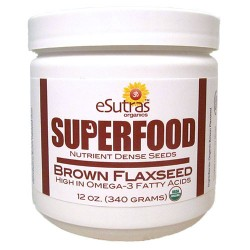 Brown Flax Seed - 12 oz