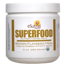 Brown Flax Seed Meal - 10 oz