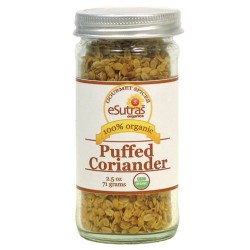 Coriander, Puffed