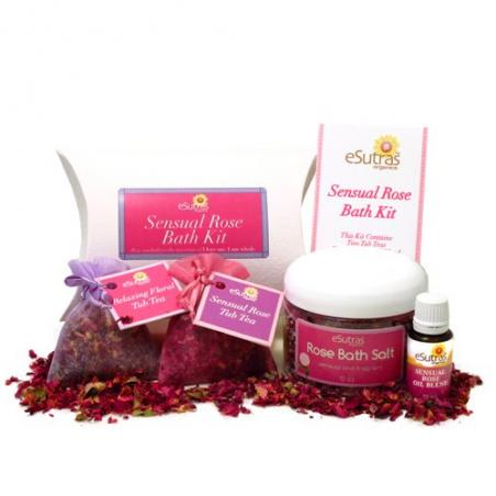 Sensual Rose Bath Kit