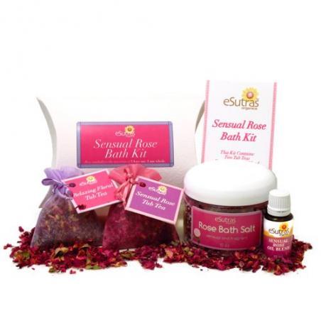 Sensual Rose Bath Kit
