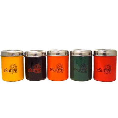 See through Tea Canister